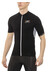 X-Bionic The Trick Biking Shirt Short Sleeves Full Zip Men Black/White